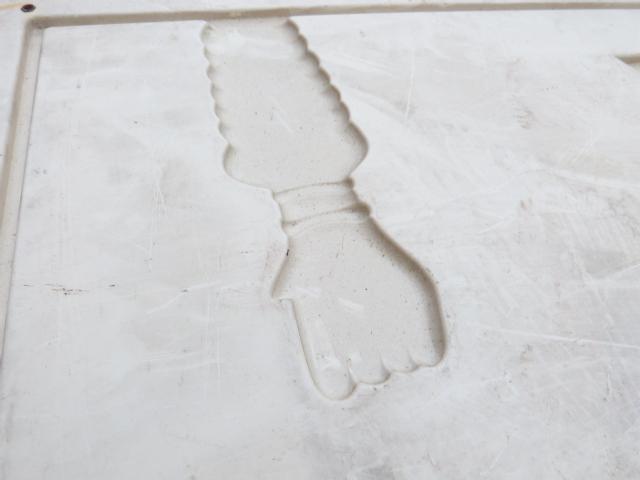 MONROE WERBESCHILD aus Kunststoff - geprägt und original MONROE !