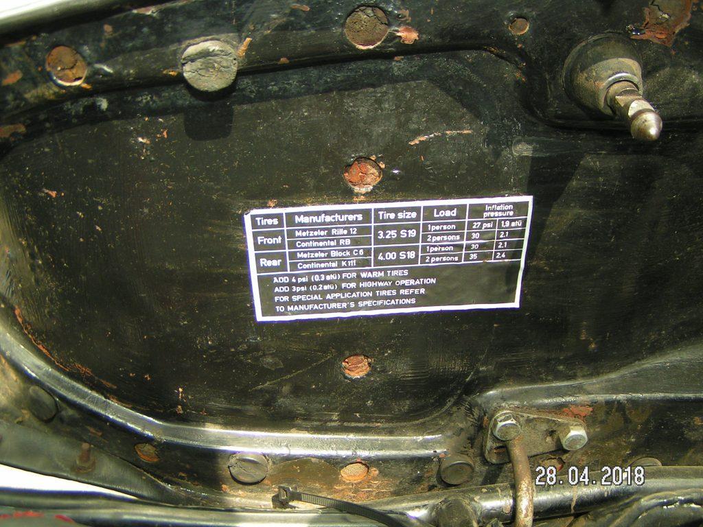 BMW R75/5 Kurzschwinge & Toastertank