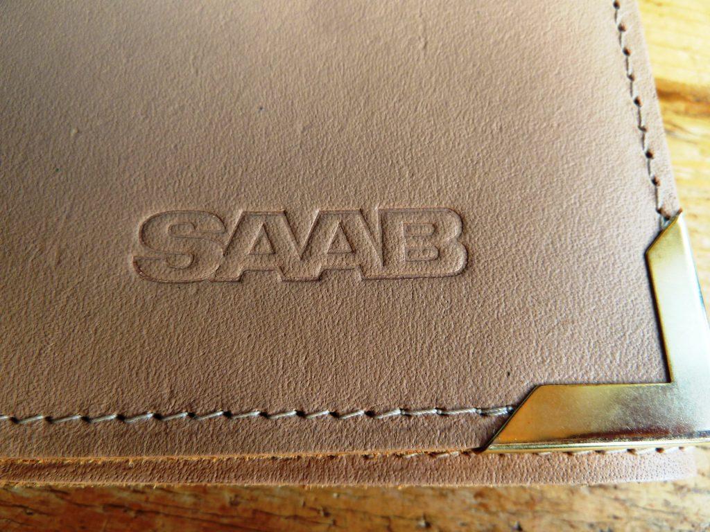 SAAB-SCHREIBMAPPE-ORIGINAL aus SAAB Vertretung