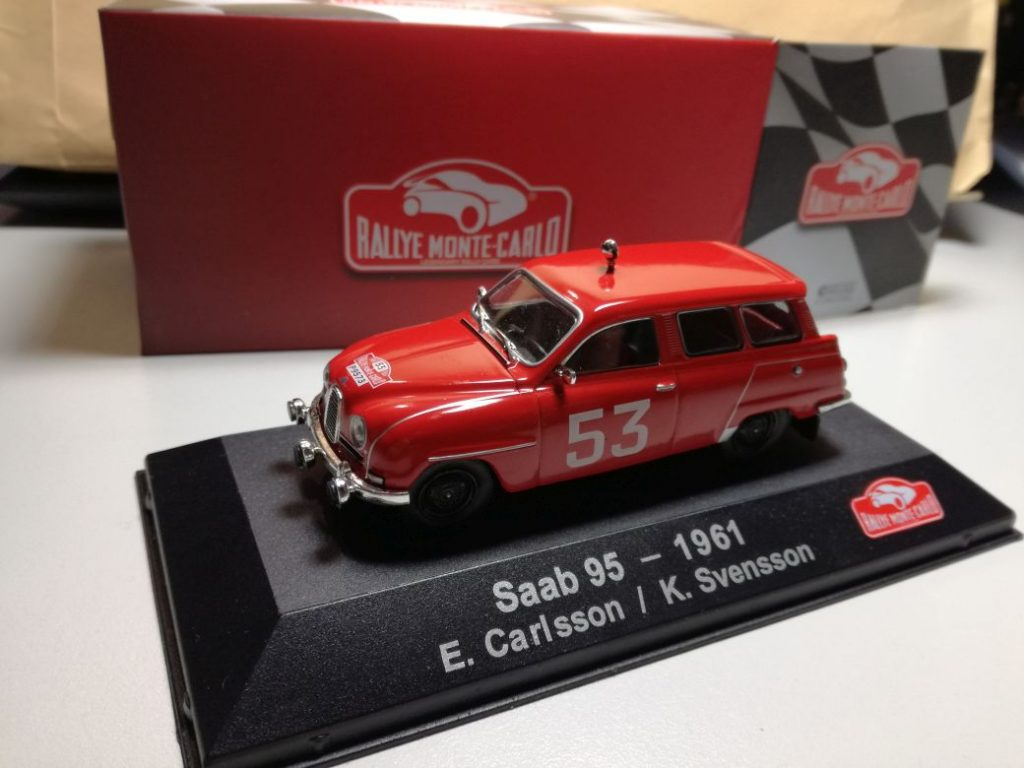 SAAB Modelcars from different modelmakers, 900 Cabrio, 95 Rally Monte Carlo, etc.