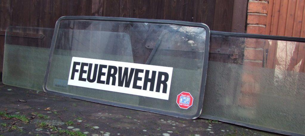 DB /8   Scheiben für Binz-Ambulanz