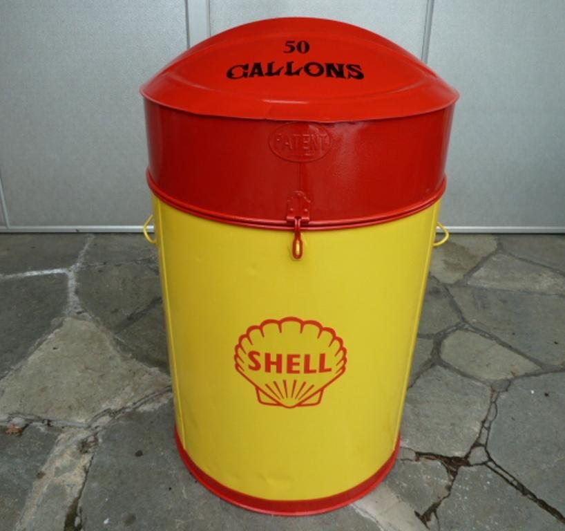 SHELL ÖLKABINETT-SHELL OILCABINET