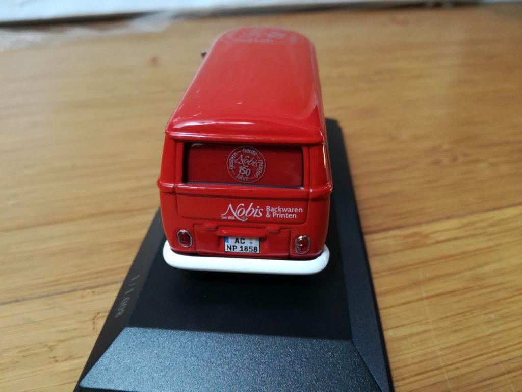 VW Bulli T1, Minichamps, Version. closed,  150 years NOBIS Aachen,