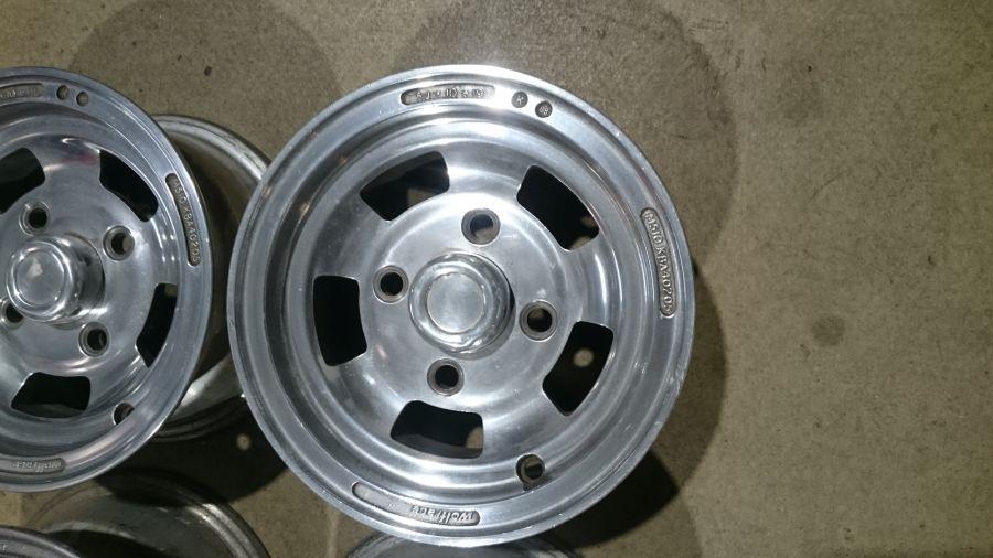 "Mini Cooper, Austin, Rover, Morris, Leyland Wolfrace Felgen 5x10"""