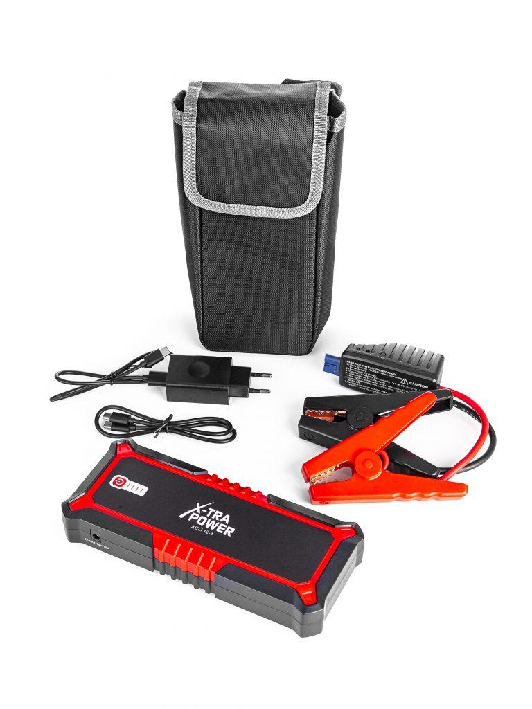 Notstart Ihres Autos bei defekter Batterie - Startbooster leicht und handlich in Profiqualität