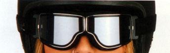 Motorrad-Brille, auch für Brillenträger