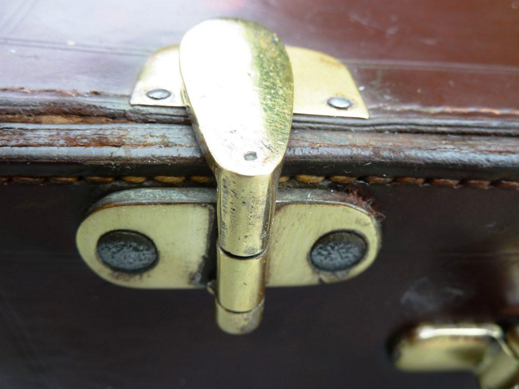 KOFFER-CABRIO-ROADSTER-REISE-LEDERKOFFER-VINTAGE-OLDTIMER-CLASSIC CAR