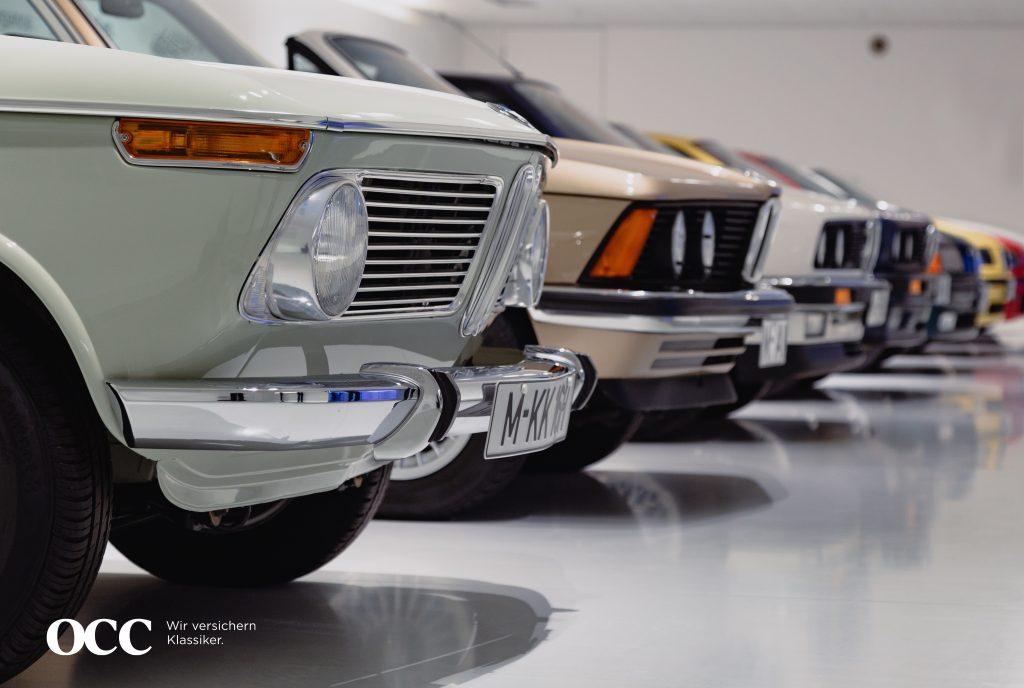 Versicherung für Historische Fahrzeug-Sammlungen