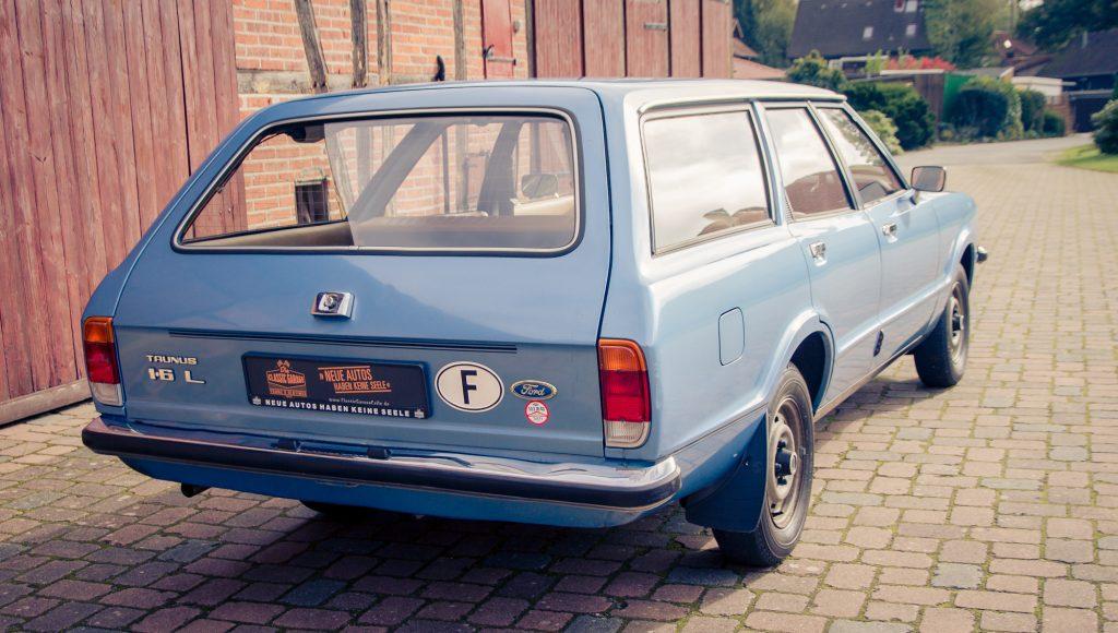 Ford Taunus Kombi Bj. 1976 mit original 26000 KM aus 1. Hand Südfrankreich