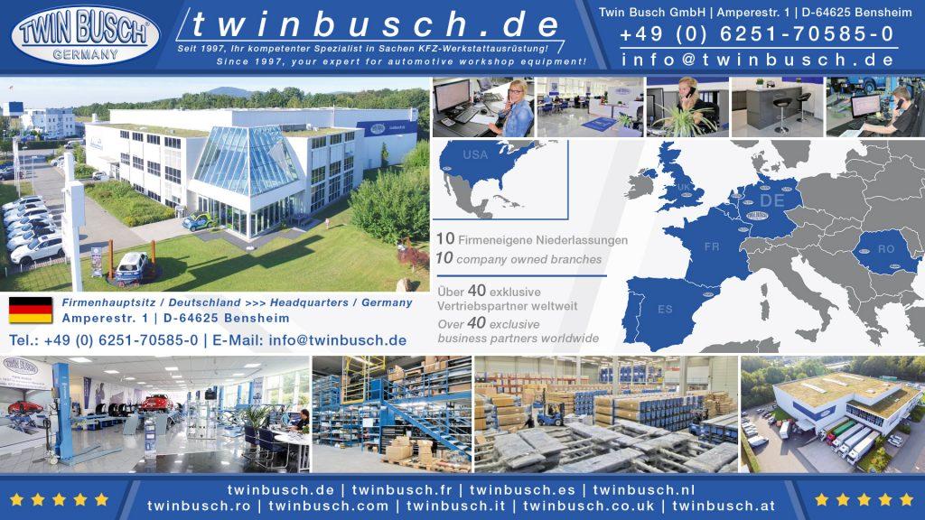 Twin Busch GmbH | Reifenmontagemaschine Basic-Line TW X-610
