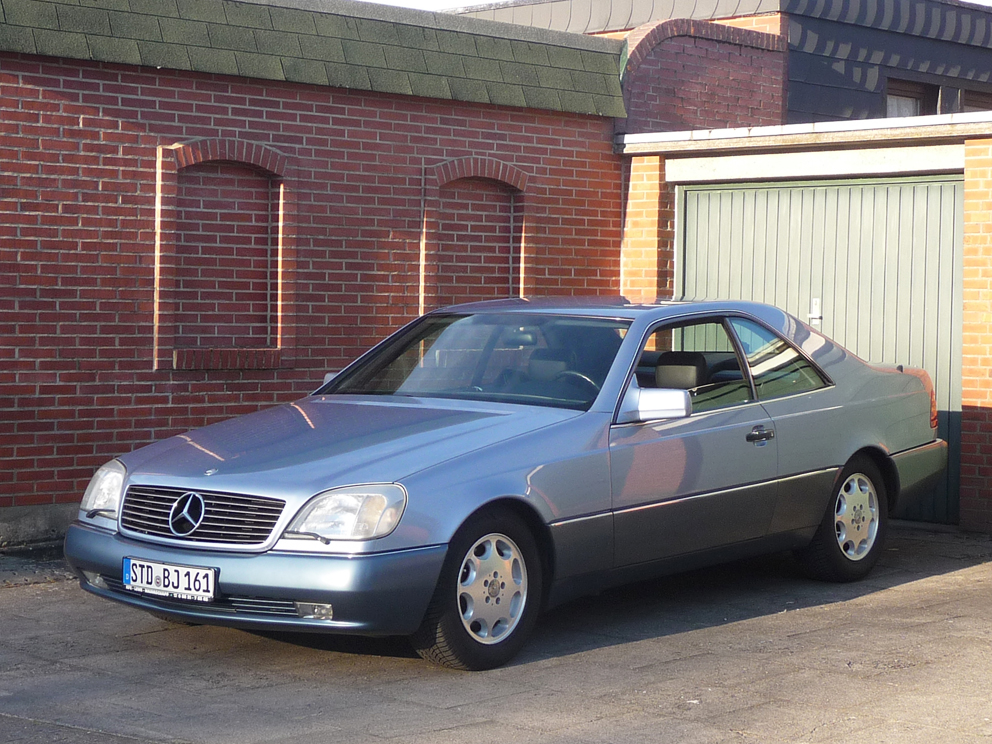 Mercedes-Benz 500SEC CL500 W140 sehr gepflegtes Liebhaberstück