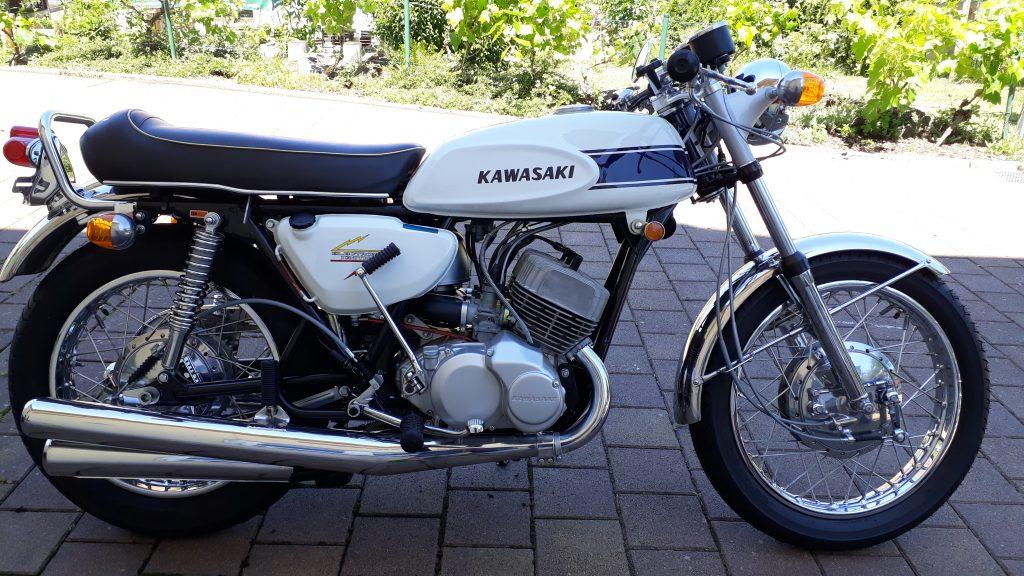 Kawasaki H1 Baujahr 1969