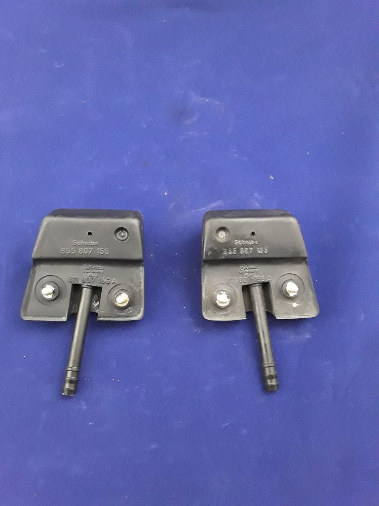 Spritzdüse links & rechts Audi 80 für Fahrzeuge mit Scheinwerferwaschanlage NOS