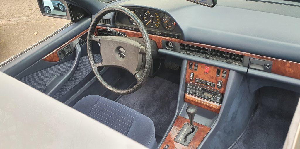 Mercedes Benz 500SEC C126  1. Serie