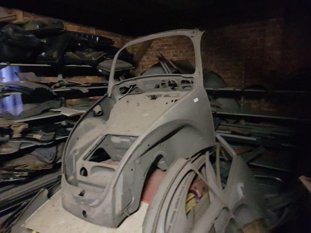 Vorderwagen Käfer ab Modell '68 NOS