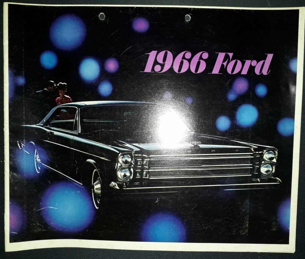 Original Verkaufsprospekt Ford Katalog 1966