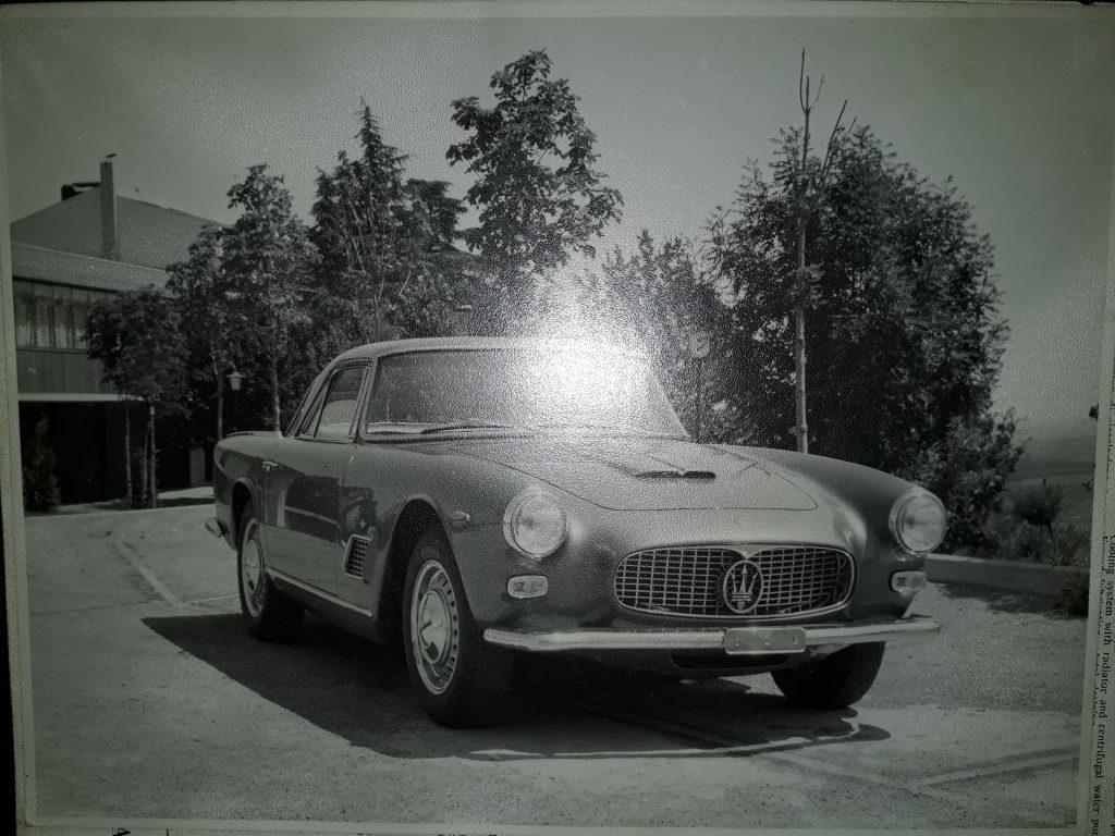 Pressefoto Maserati 3500