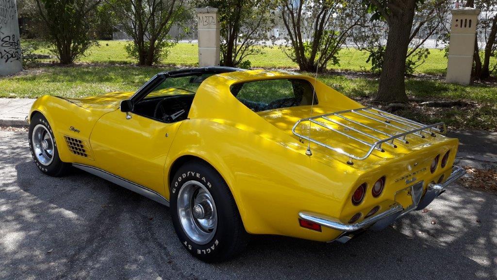 Corvette C3 Stingray Targa, Matching#, Historie, org. Lack, Ersatzteile
