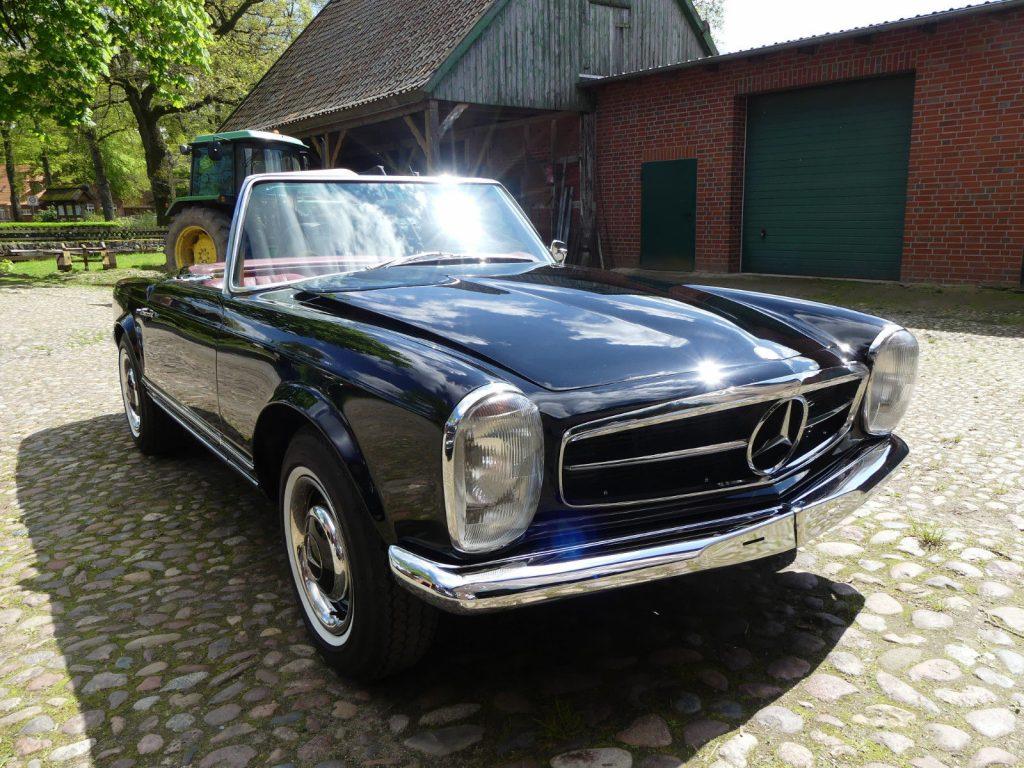 Mercedes Pagode 230 SL Bj. 66, komplett restauriert Zustand 1-