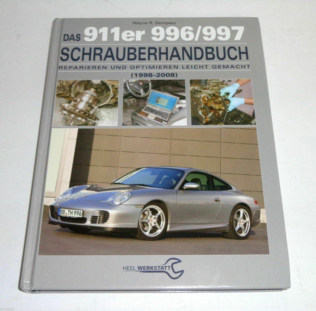 Reparaturanleitung Schrauberhandbuch Porsche 911 Coupe + Cabrio Typen 996 + 997