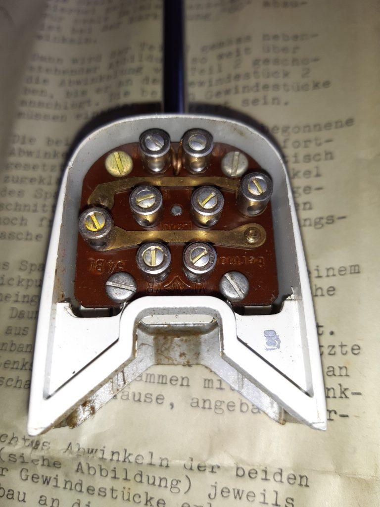SWF Blinkerschalter für die Lenksäule mit Kontrollleuchte im Kopf