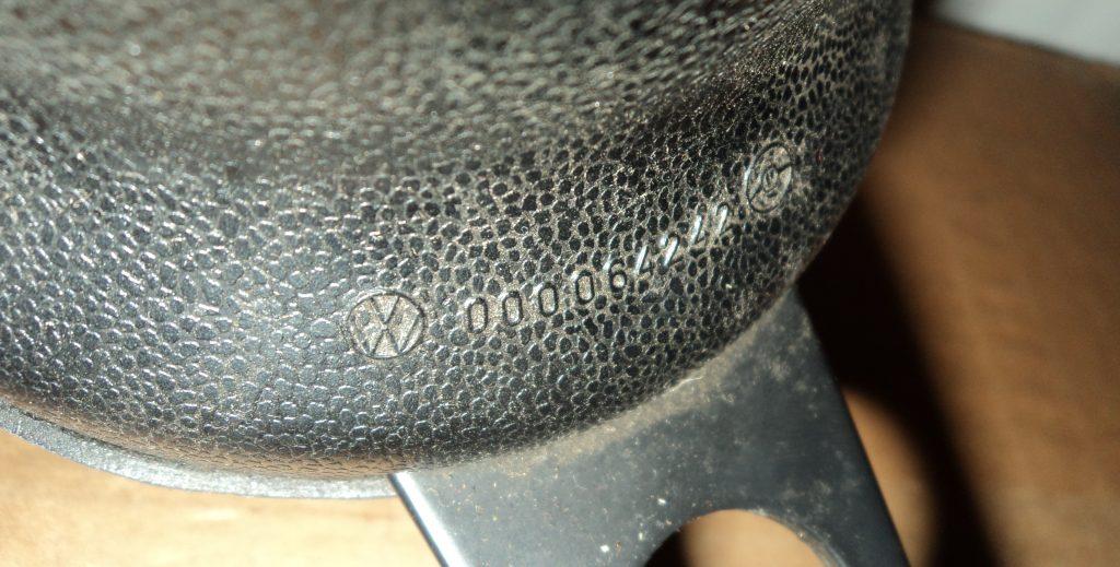 Original Volkswagen Zubehör Sportlenkrad Sonderlenkrad Ø 380 mm, sportliche matt-schwarze Ausführung