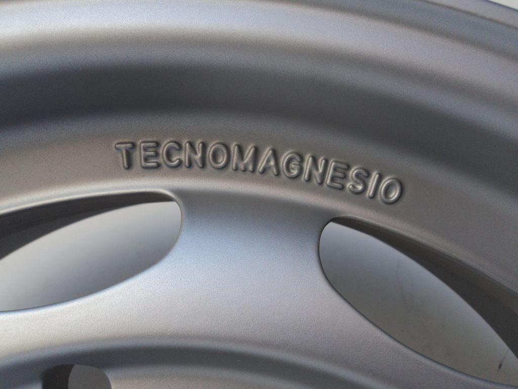 "Tecnomagnesio Sportfelge Felge 5 x 15"" großer 5-Lochkreis Porsche 356, 4 Stück"