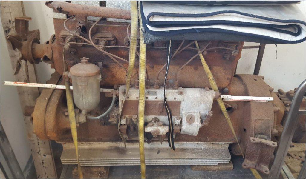 Hansa Lloyd, Europa, 6 Zyl. Diesel Motor/Getriebe