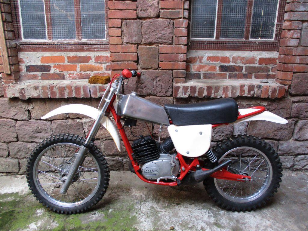Maico MC 125 Drehschieber