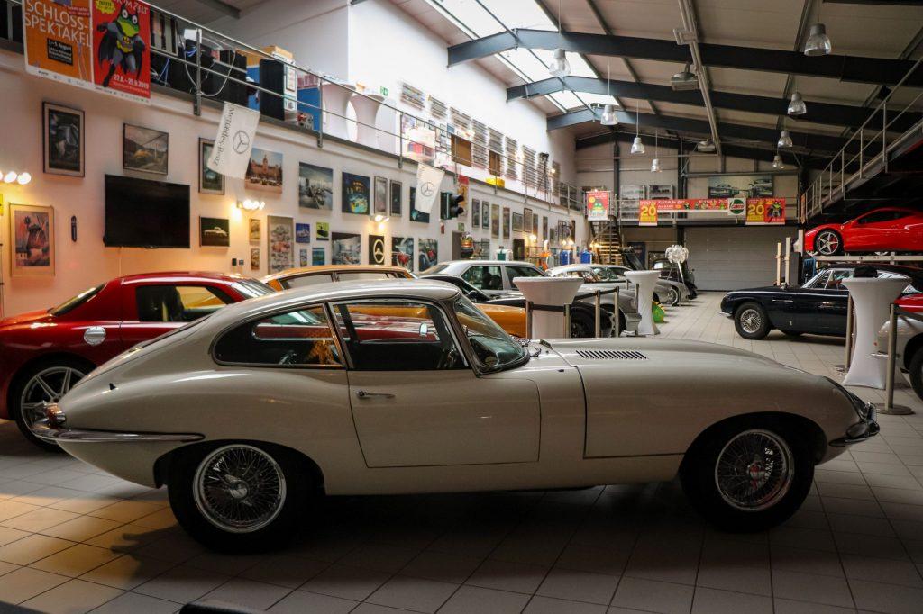 1963 Jaguar E Type 3.8 FHC vollständig restauriert