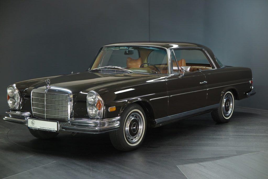 Mercedes-Benz 280SE Autom. 3,5 Flachkühler Coupe in eleganter Farbkombination und mit Klimaanlage !