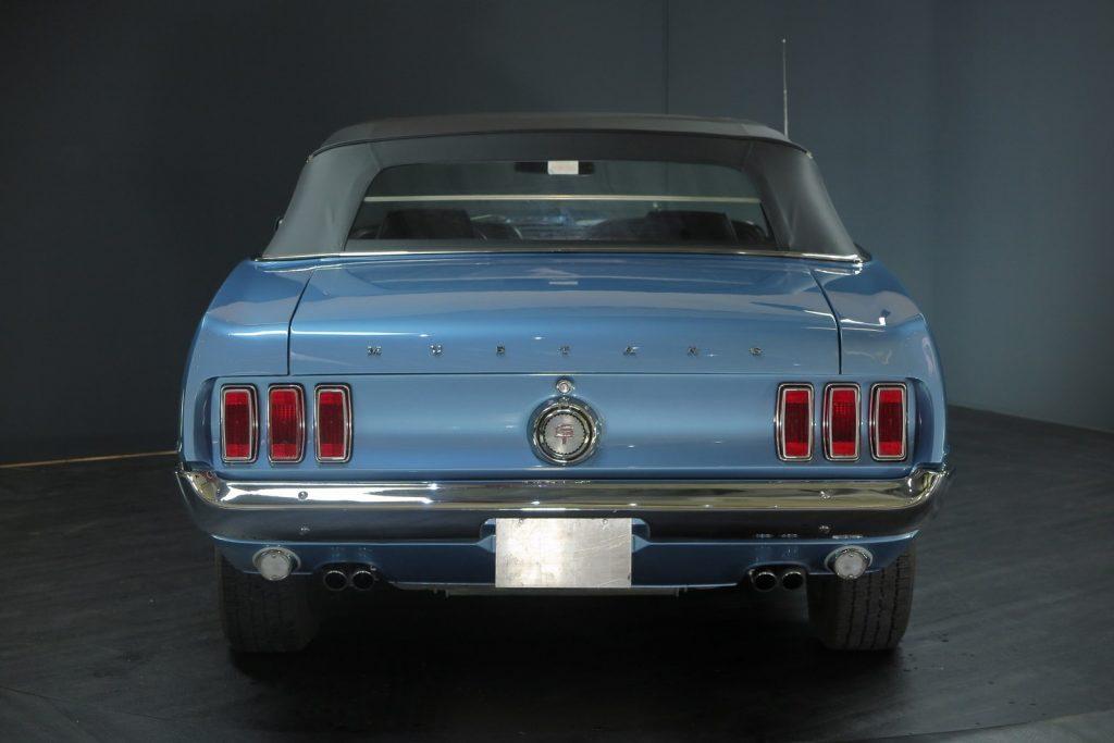 1 von nur 9 Stück gebauten Ford Mustang GT 428 Cobra-Jet 4-Speed Cabriolets ,Vollrestauriert !!