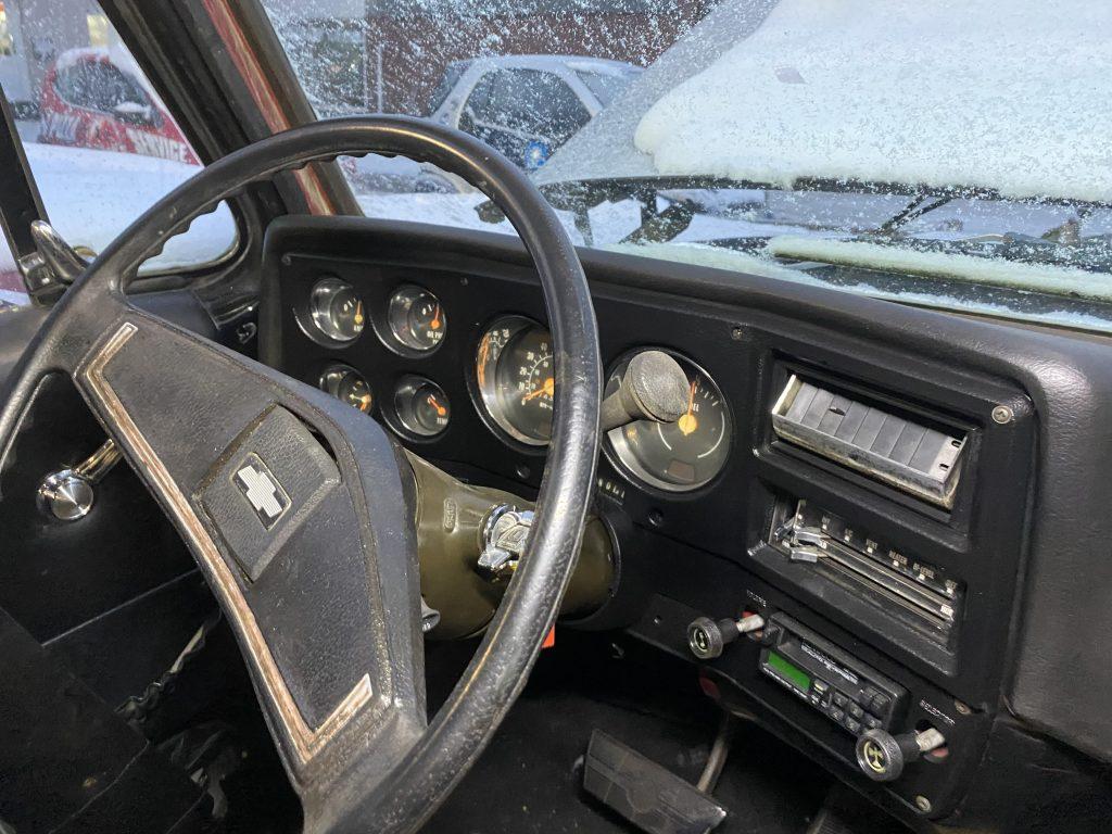 Pick-Up Chevy C 10 mit Stepside zur Restaurauration
