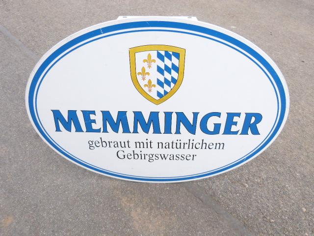 Brauerei Schild Werbeschild - 880m x 660mm ! Original Werbeschild