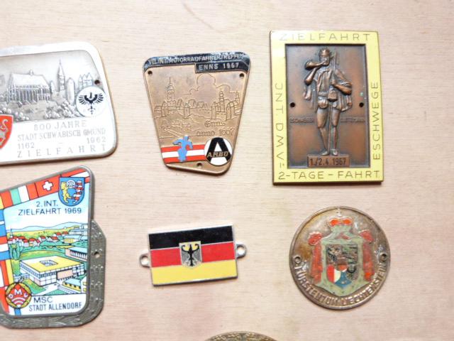 Oldtimer Plaketten - 50iger / 60iger Jahre - KONVOLUT ! 20 Stück !