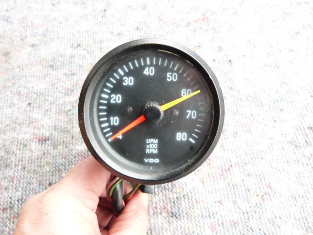 Oldtimer DEHZAHLMESSER 8000 U/min ! 6V/12V 2/4/6 Zylinder 4-Takt ! RALLYE !!