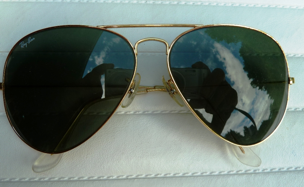 ORIGINAL US RAY-BAN AVIATOR FLIEGERBRILLE-AVIATOR GLASES
