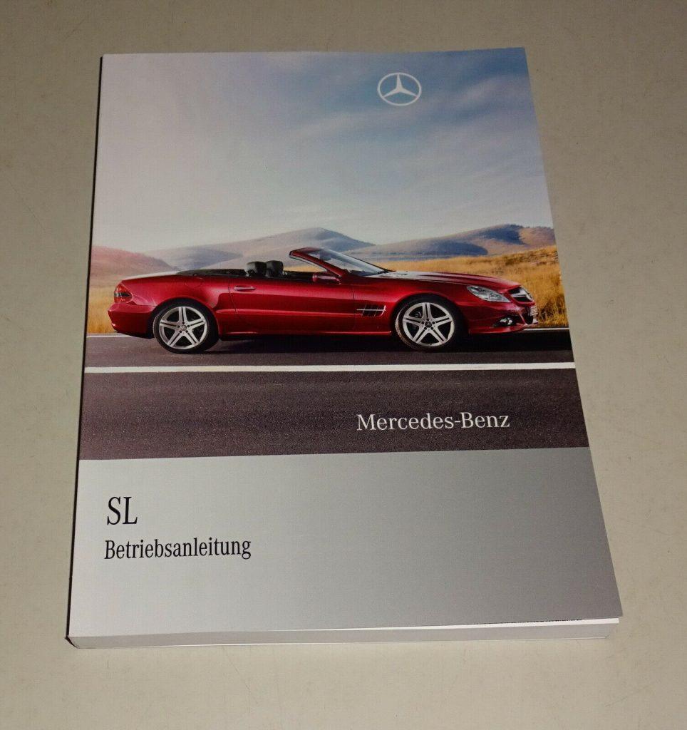 Betriebsanleitungen Mercedes 190 SL R121, R113 Pagode, R107 SL / SLC, R129, R230, SL 65 AMG und viele mehr