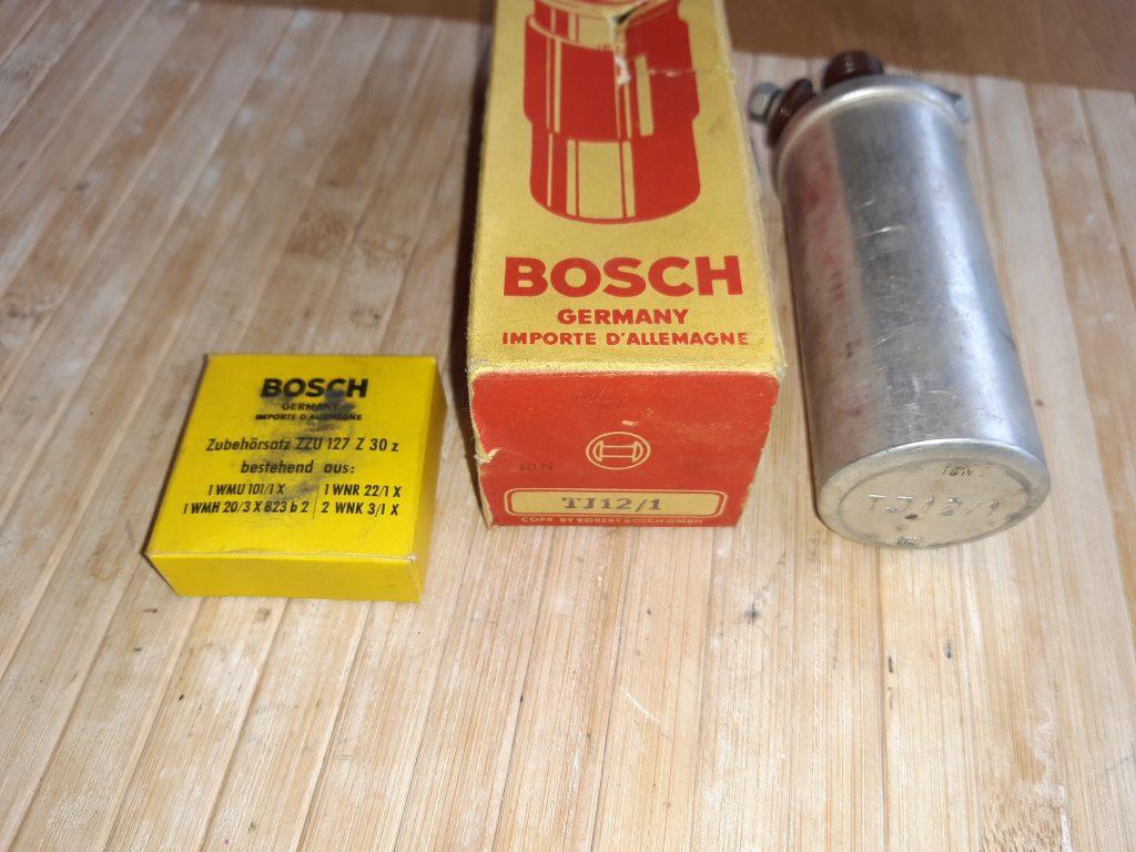 Bosch Zündspule TJ12/1 Gogo/Isetta/Heinkel/Janus/Messeschmitt NOS