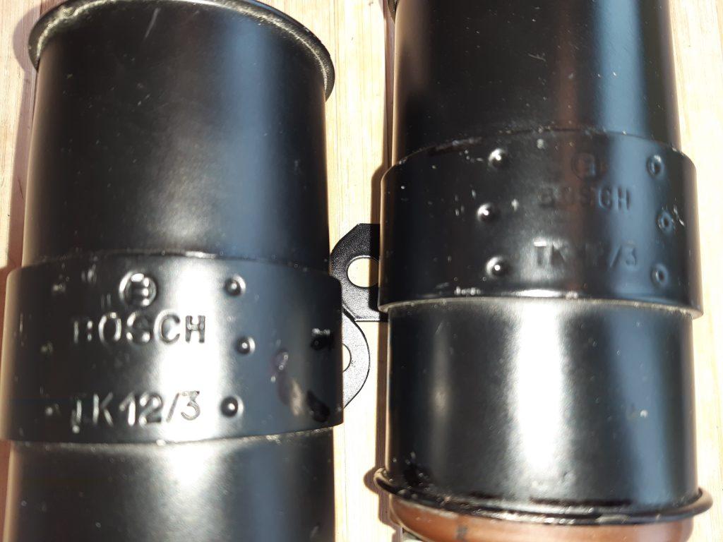 Bosch Zündspule TK12/3  frühe Nachkrieg bis 1953, auch Vorkrieg lieferbar