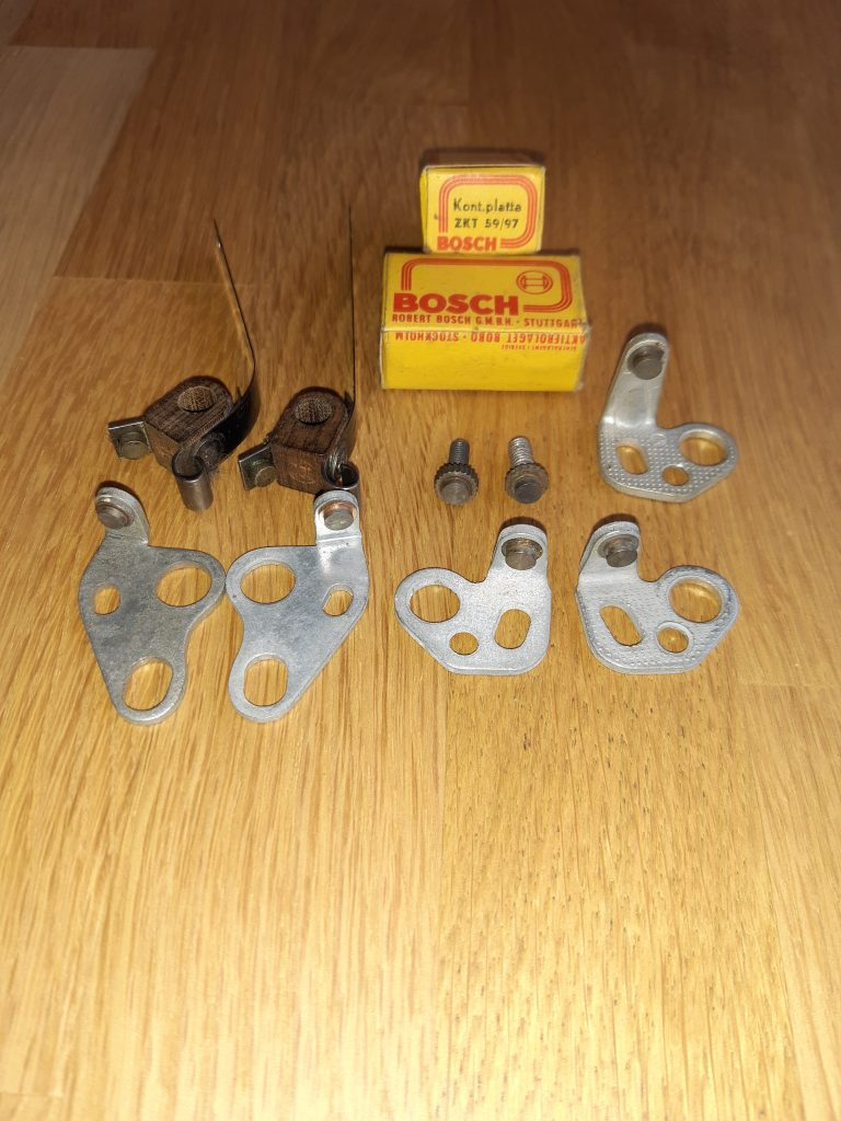 Zündkontakte für Bosch Vorkriegszündverteiler Alfa Romeo/BMW/Bugatti/Horch/Mercedes usw.