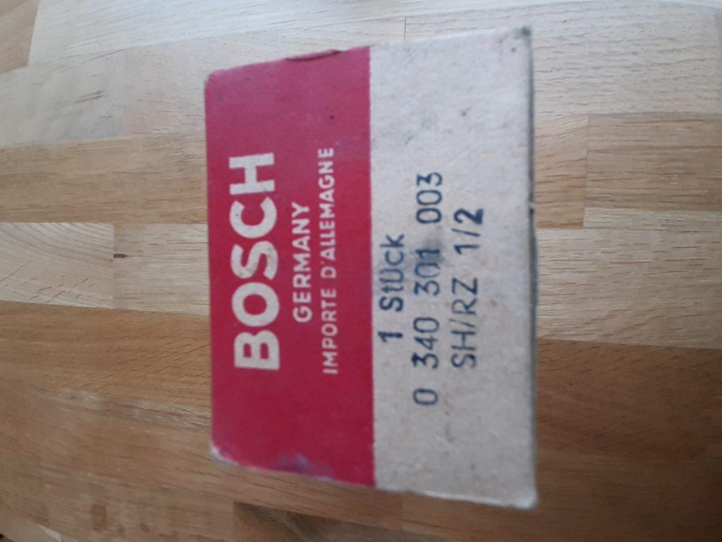 Bosch Zugschalter 4-Stufig 12V Heizgebläse, Scheibenwischer usw.